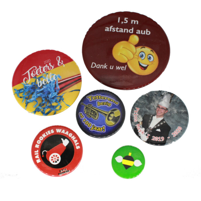 Ronde buttons